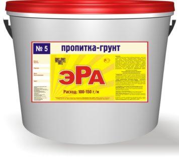 Пропитка-грунт ЭРА-5